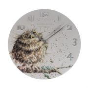 Wrendale Owl Clock